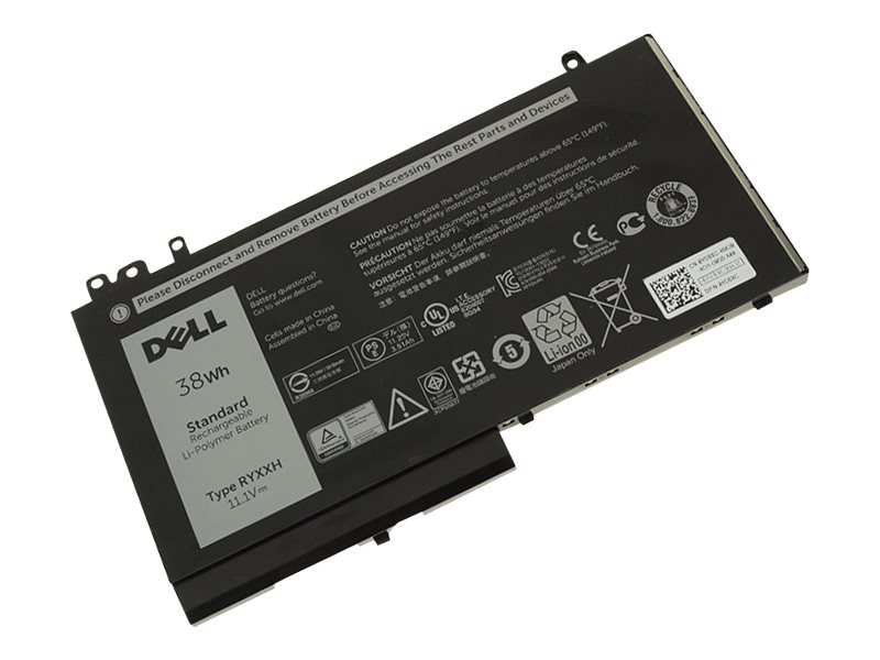 BTI 3-Cell Battery for Dell Latitude E5250 RYXXH 0R5MD0 R5MD0