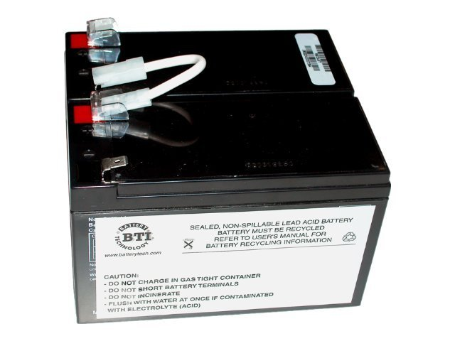 BTI Replacement Battery, RBC5, for APC SU450 and SU700 Models, RBC5-SLA5-BTI
