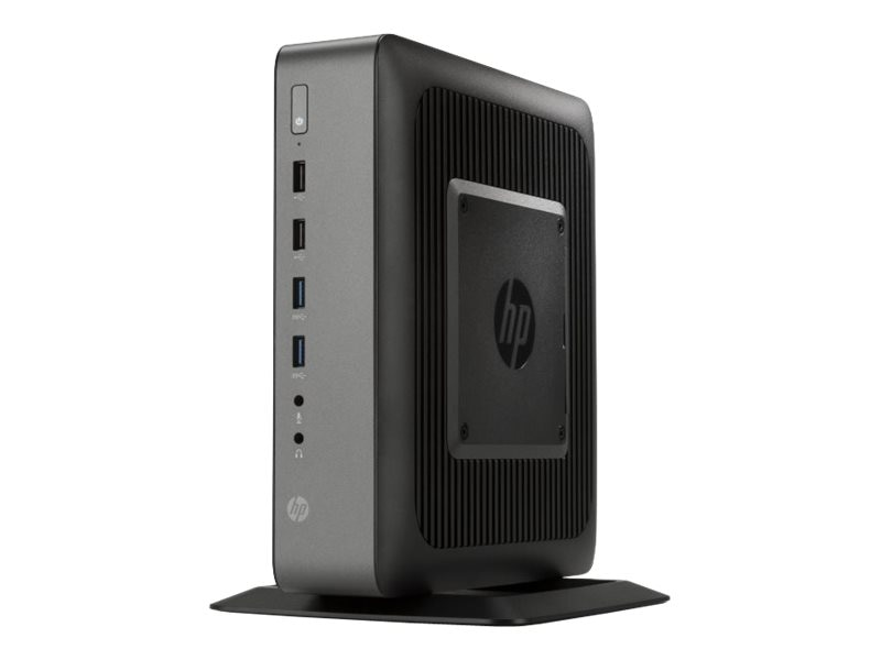 HP t620 PLUS Flexible Thin Client AMD QC GX-420CA 2.0 GHz 4GB RAM 16GB Flash HD8400E Fiber WES7E, J5P57UA#ABA, 17808487, Thin Client Hardware