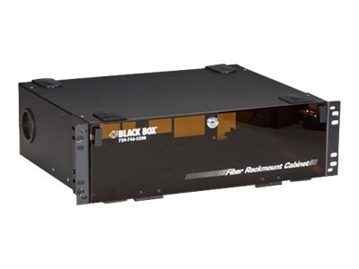Black Box Rackmount Fiber Enclosure - 3U