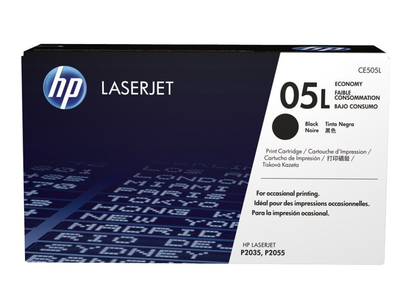 HP 05L (CE505L) Black Original LaserJet Toner Cartridge