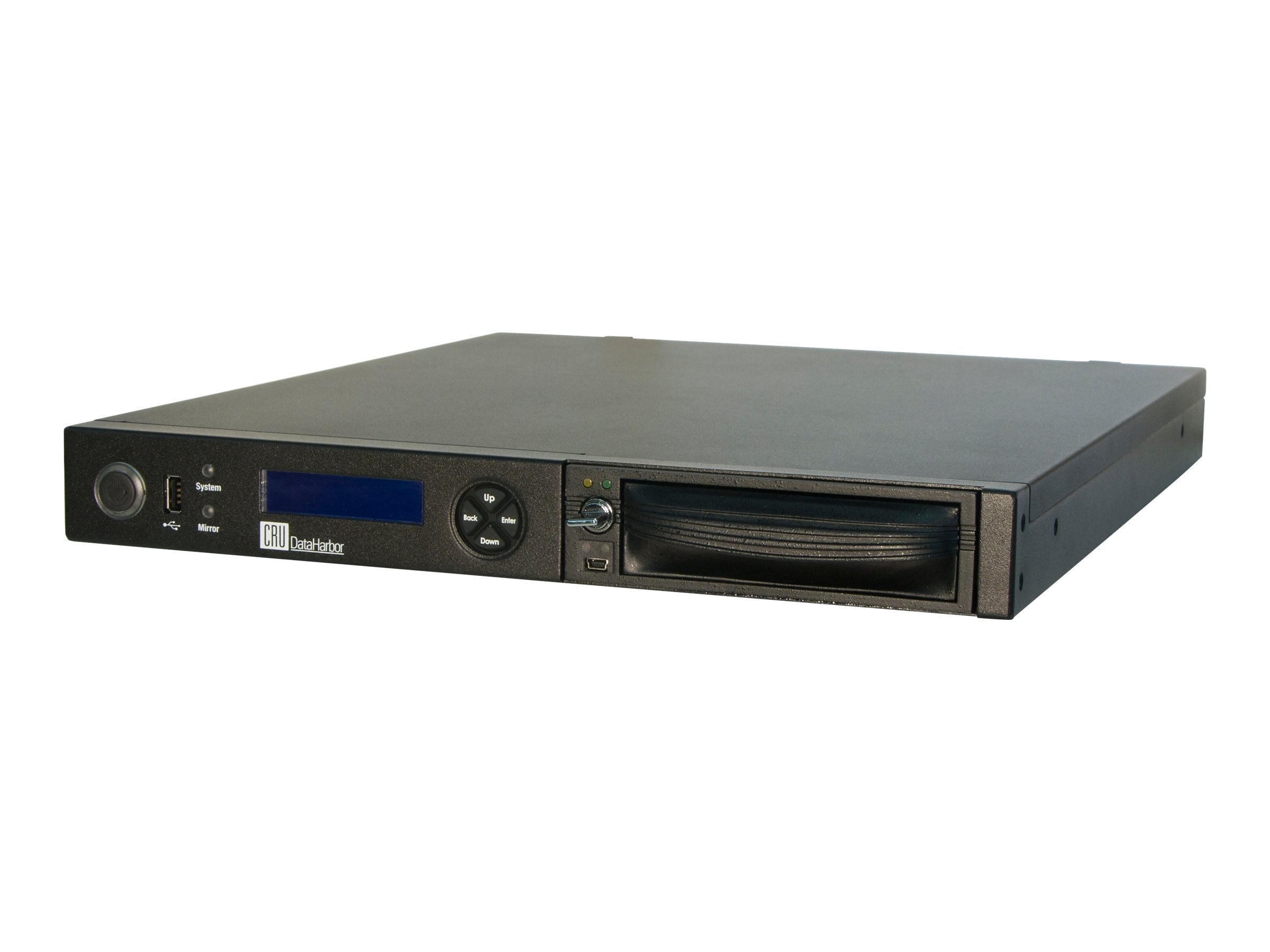 CRU DataHarbor DP10E w  1X2TB, 48100-3336-2200, 17730510, Hard Drives - External