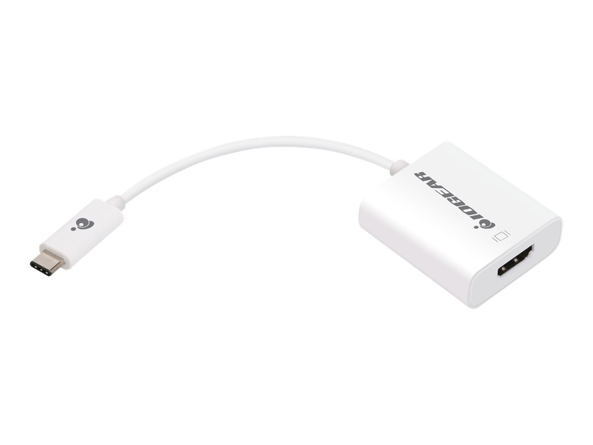IOGEAR USB Type C  to HDMI M F Adapter, White