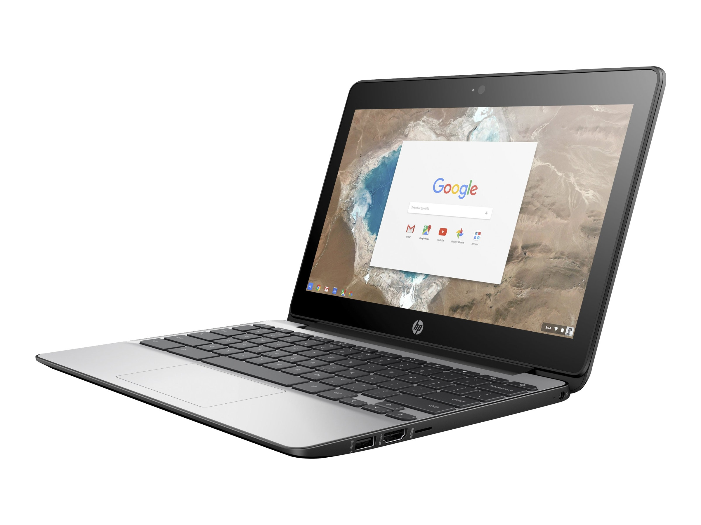 HP Chromebook 11 G5 1.6GHz Celeron 11.6in display