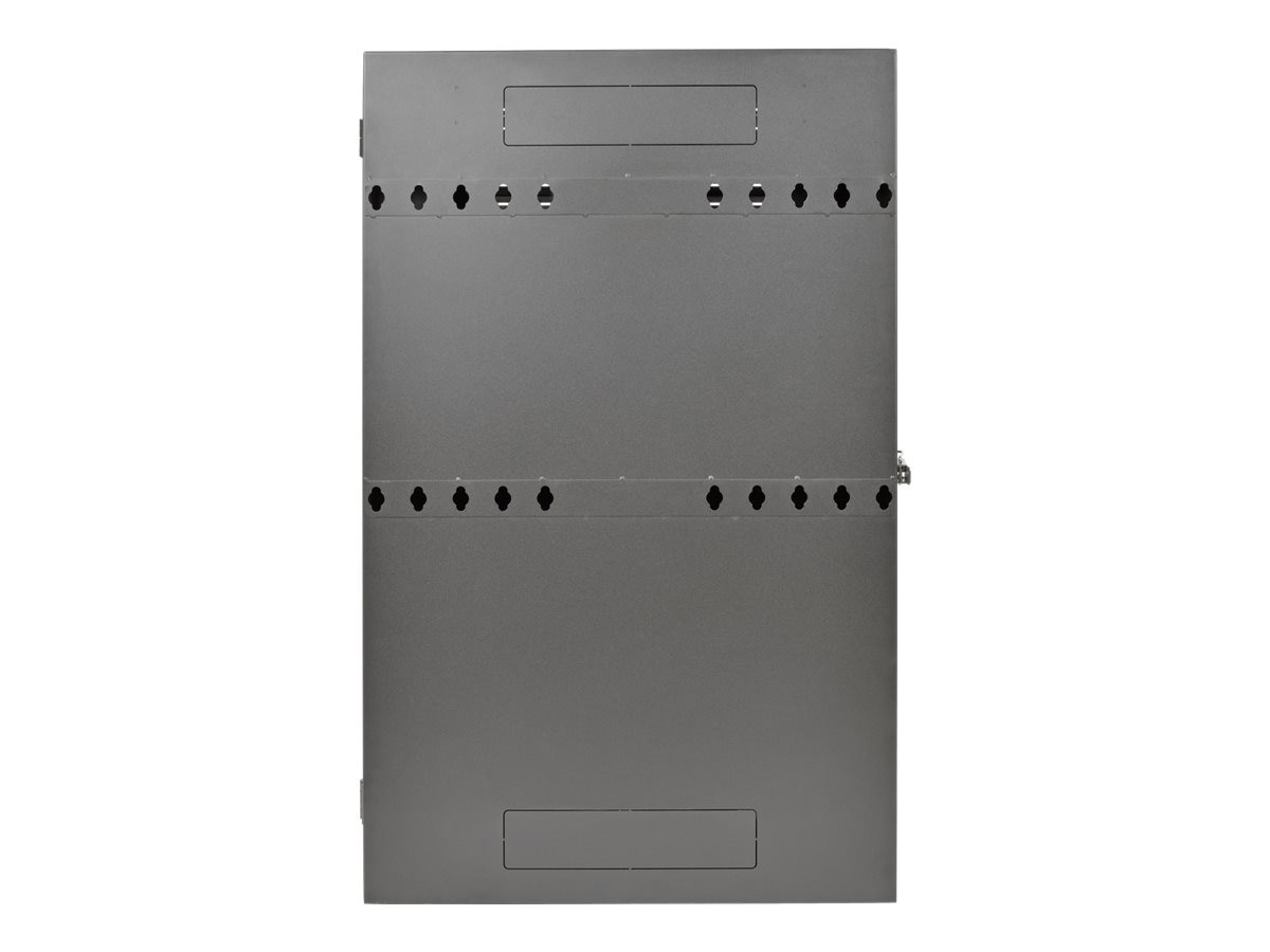 Tripp Lite SmartRack 2U Low-Profile Vertical-Mount Server-Depth Wall-Mount Rack Enclosure Cabinet, SRWF2U36