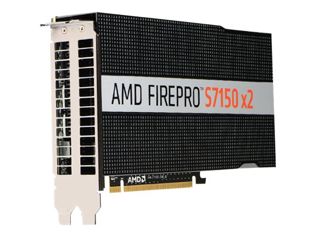 AMD Firepro S7150 x2 PCIe 3.0 x16 Passive Cooling Graphics Card, 16GB GDDR5, 100-505951