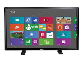 InFocus 57 BigTouch Touchscreen Display with Table Stand, Black, INF5711, 18397755, Monitors - Large Format - Touchscreen/POS