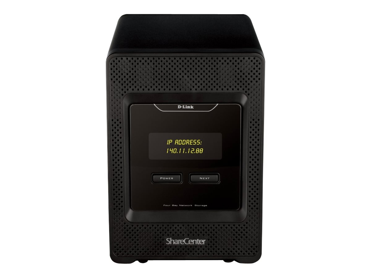 D-Link Cloud Storage 4000 4 Bay NAS, DNS-345, 14559198, Network Attached Storage