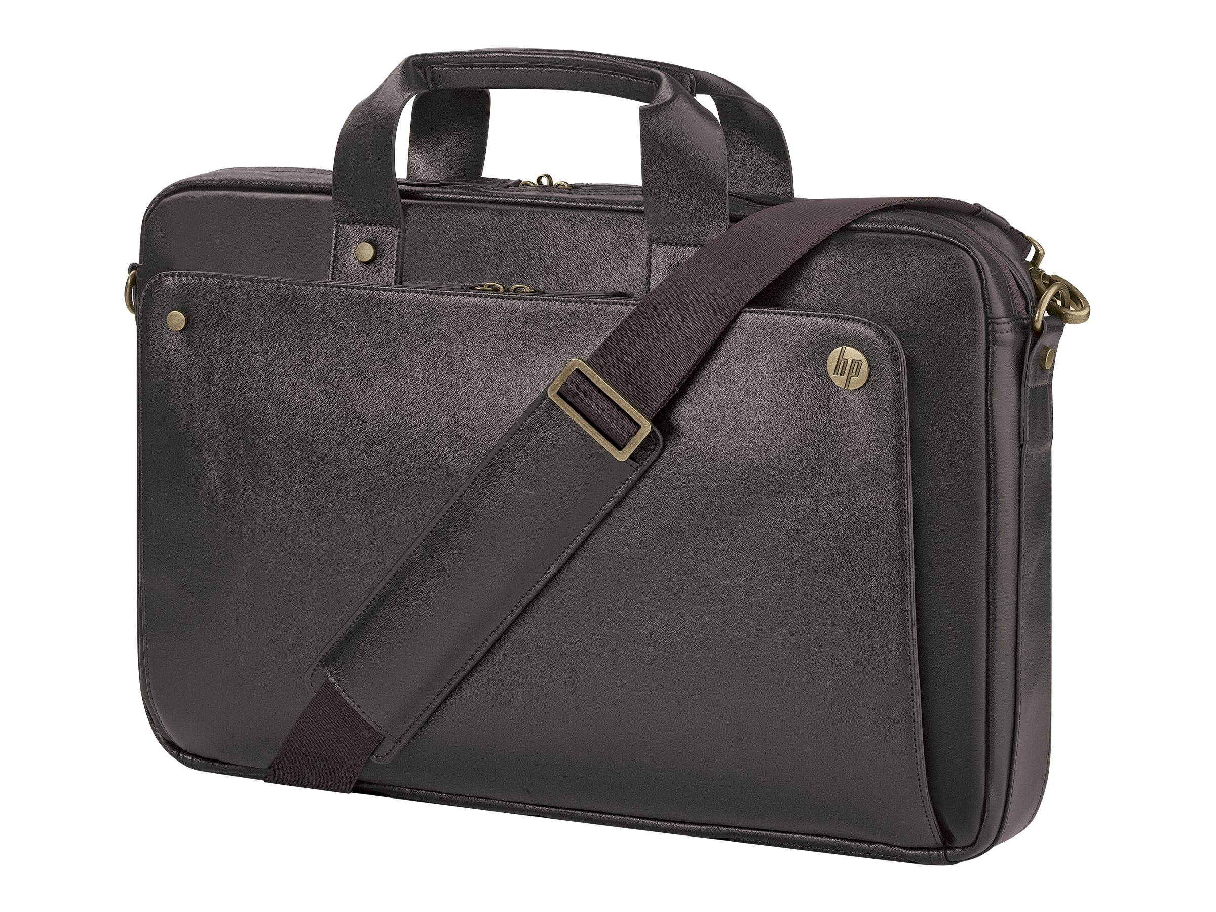 HP Executive Leather Top Load 17.3, Brown