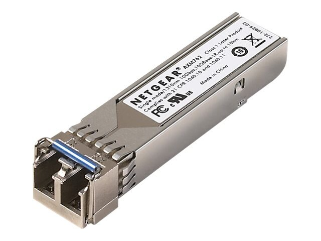 Netgear ProSafe 10GB LR SFP+LC GBIC, AXM762-10000S, 10988032, Network Device Modules & Accessories