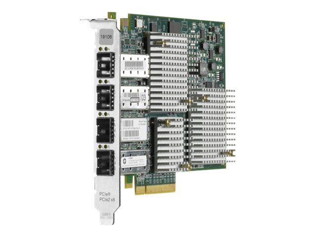 HPE PCIe 2-Port 8Gb FC & 2-Port 10GbE Adapter, AT094A, 31461803, Network Adapters & NICs