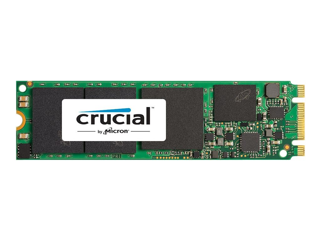 Crucial 500GB MX200 M.2 Type 2280 Internal Solid State Drive, CT500MX200SSD4, 18467805, Solid State Drives - Internal