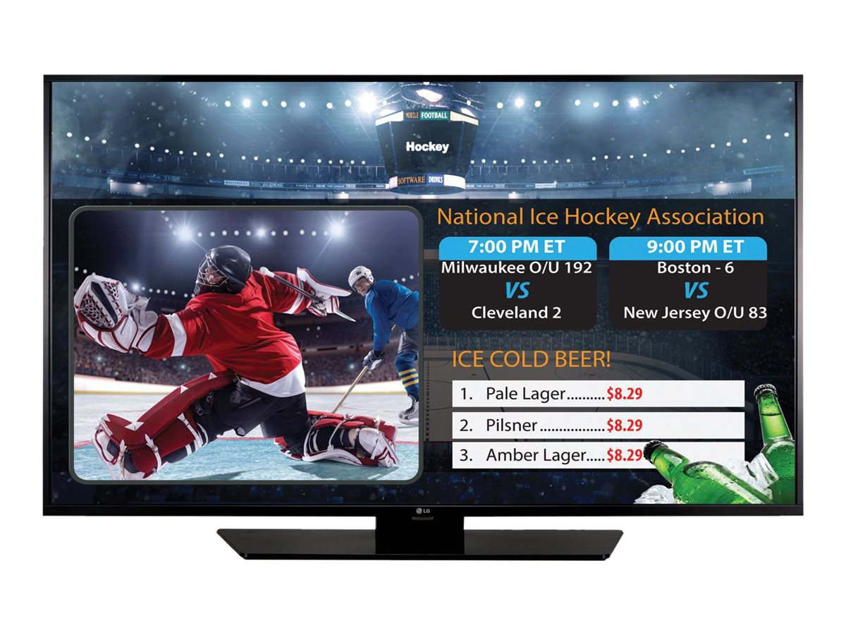 LG 65 LX540S Full HD LED-LCD SuperSign TV, Black, 65LX540S, 19749185, Televisions - Commercial
