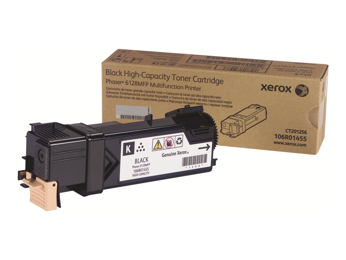 Xerox Black Toner Cartridge for Phaser 6128MFP, 106R01455