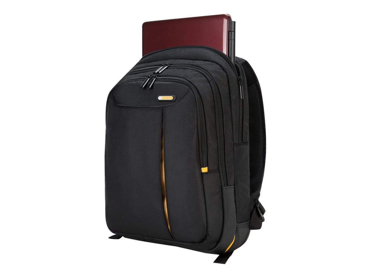 Targus Meridian Backpack Notebook Carry Case Poly, Black (Dell Only)