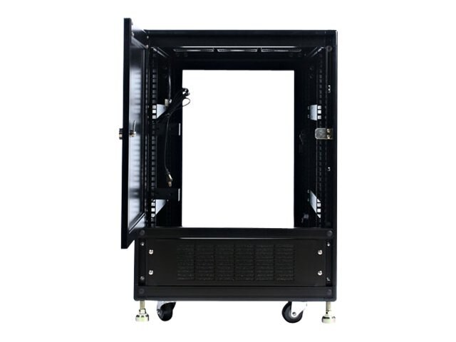 StarTech.com 15U 19in Black Server Rack Cabinet with Fans, 2636CABINET, 356272, Racks & Cabinets