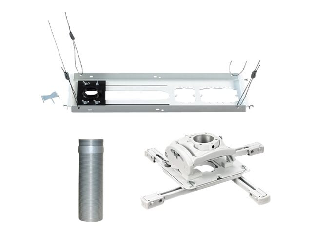 Chief Manufacturing Bundle Universal Projector Mount, Extension Column, Suspended Ceiling Kit