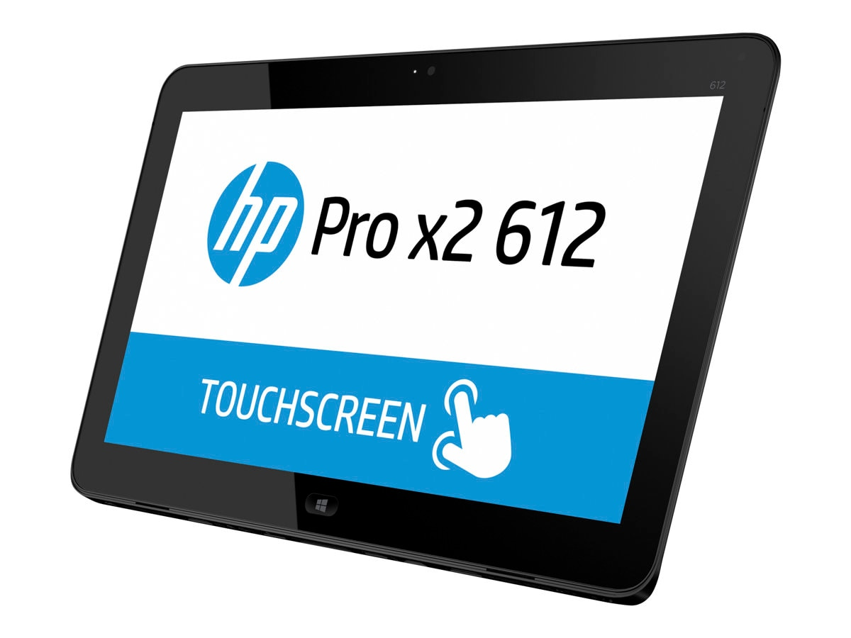 Open Box HP Pro x2 612 G1 Core i3-4012Y 1.5GHz 4GB 64GB SSD abgn ac BT WC 4C 12.5 FHD MT W8.1-64, J8V68UT#ABA