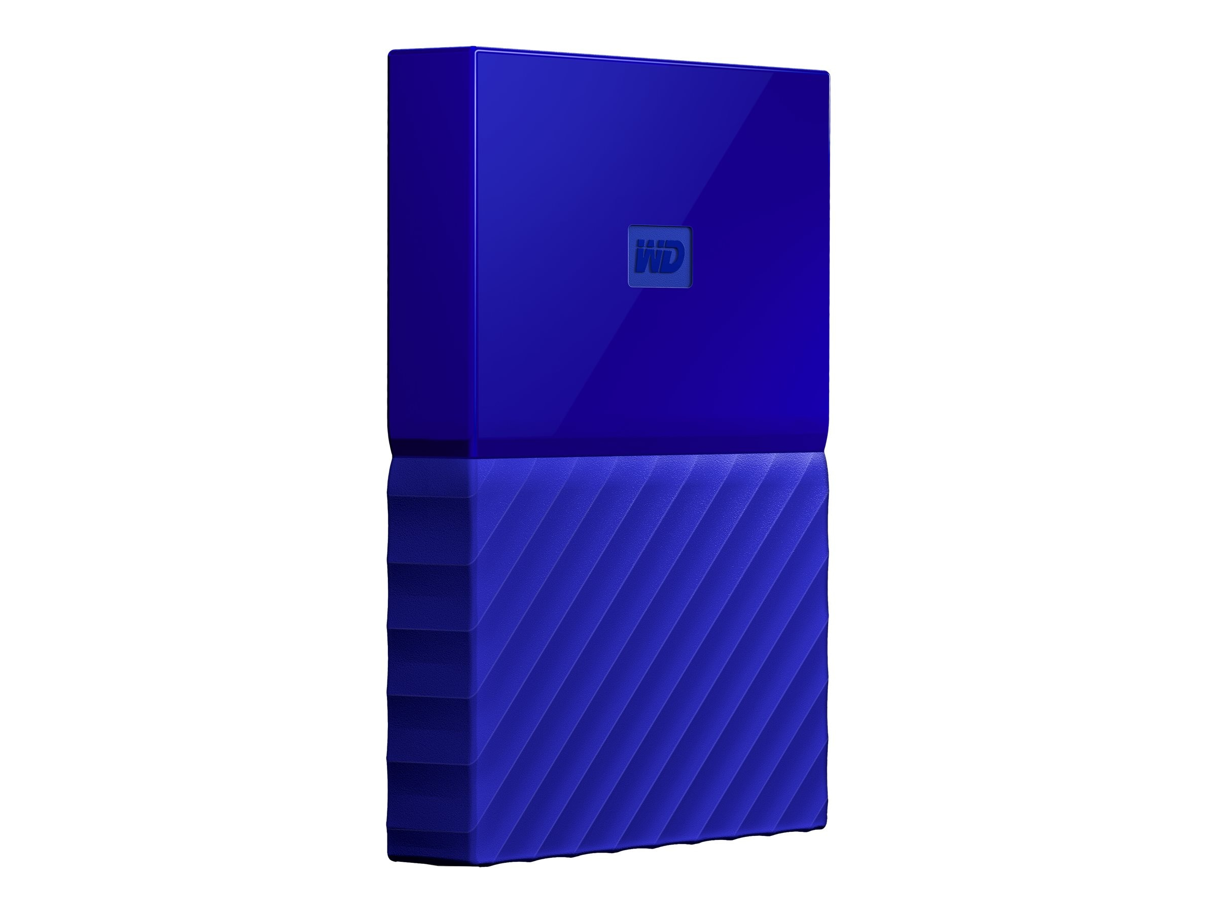 WD 2TB My Passport USB 3.0 Portable Hard Drive - Blue, WDBYFT0020BBL-WESN