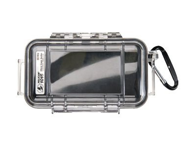 Pelican I1015 Micro Case w  Clear Lid for iPod & Smartphone w  Liner, Black
