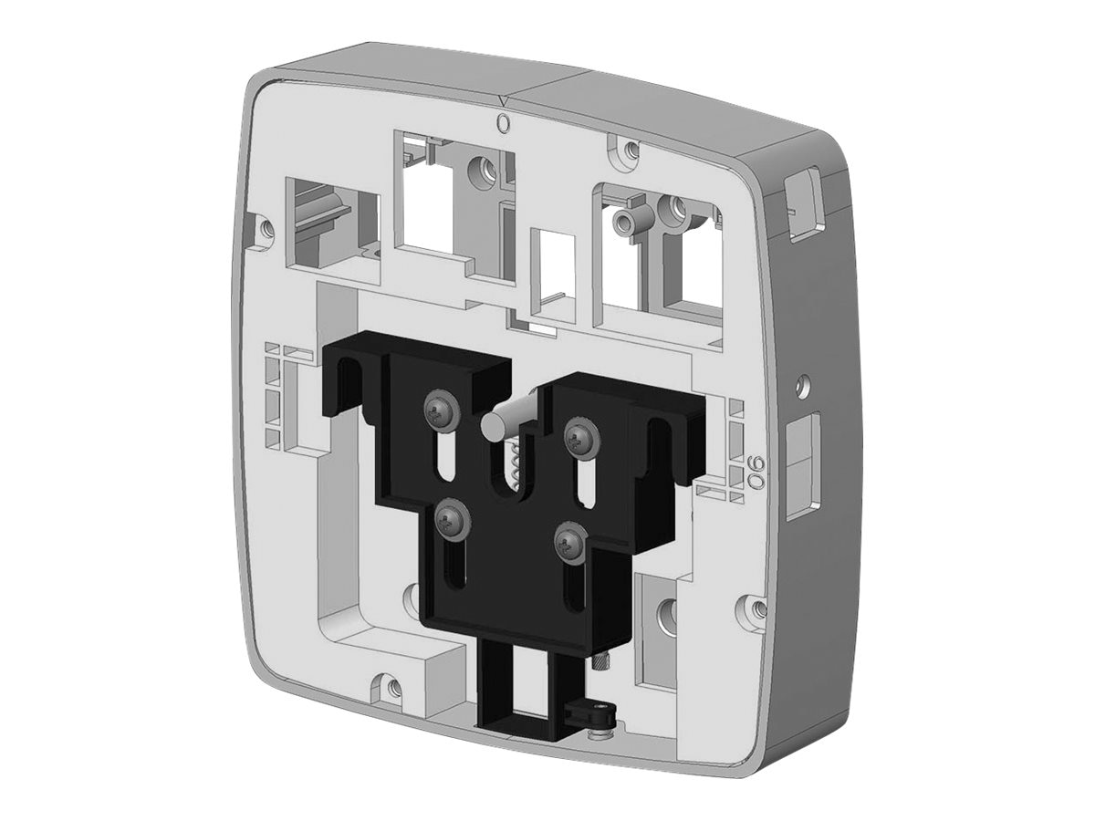 Aruba Networks Secure Flat-Surface Wall Ceiling Mount Cradle for 200 Series, AP-200-MNT-W2, 17344846, Mounting Hardware - Network