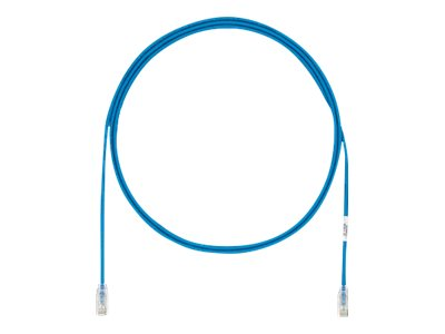 Panduit CAT6A 28AWG UTP Copper Patch Cable, Blue, 2m