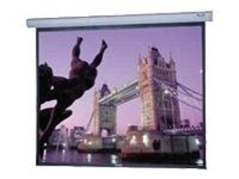 Open Box Da-Lite Large Cosmopolitan Electrol Projection Screen, Matte White, 1:1, 16' x 16', 96387, 31260391, Projector Screens