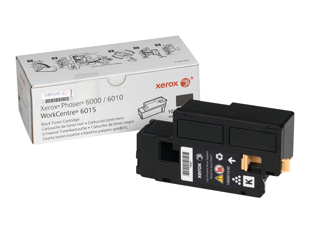 Xerox Black Standard Capacity Toner Cartridge for Phaser 6000 & 6010 Series & WorkCentre 6015