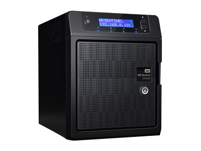 WD 16TB WD Sentinel DX4200 Windows Storage Server, WDBRZD0160KBK-NESN, 17765931, Network Attached Storage