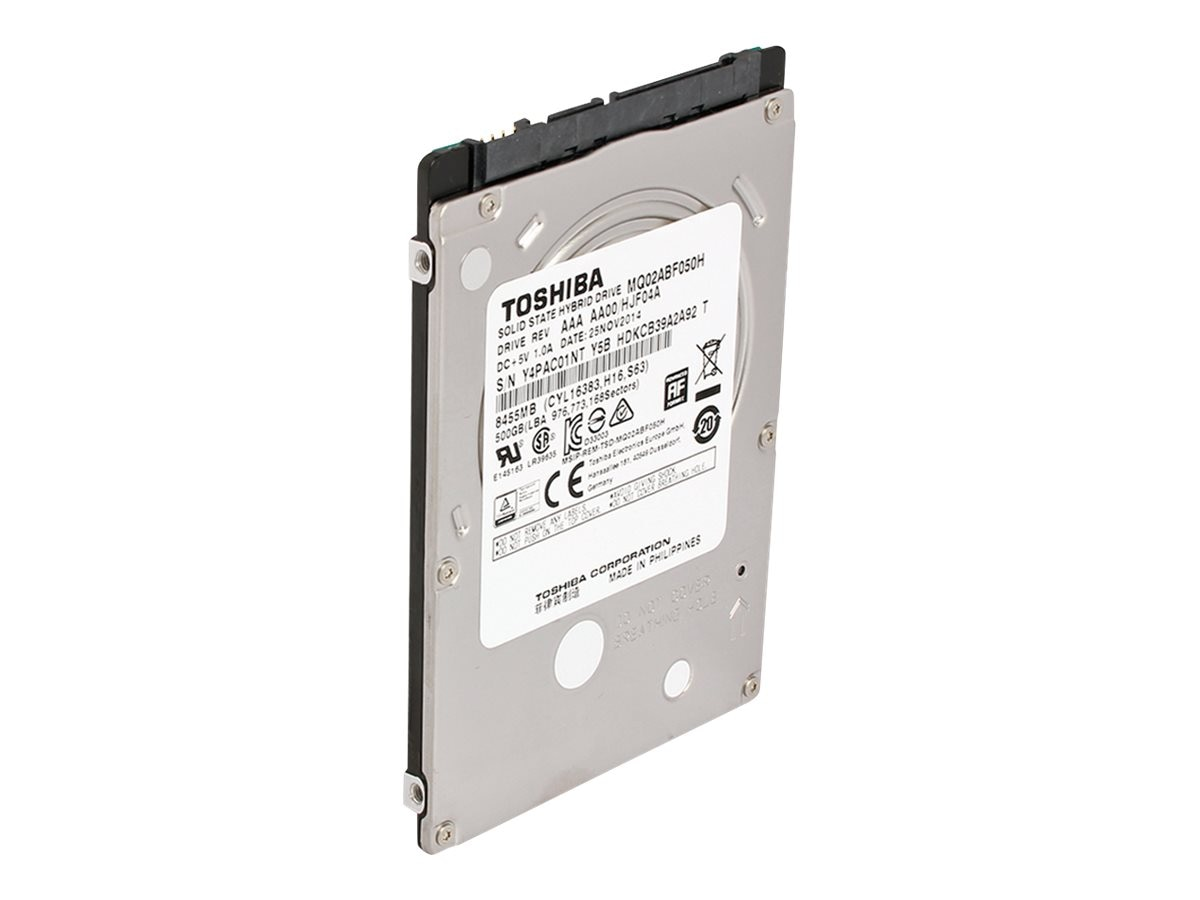 Toshiba 500GB SATA 6Gb s 2.5 Solid State Hybrid Hard Drive, MQ02ABF050H, 20864594, Hard Drives - Internal