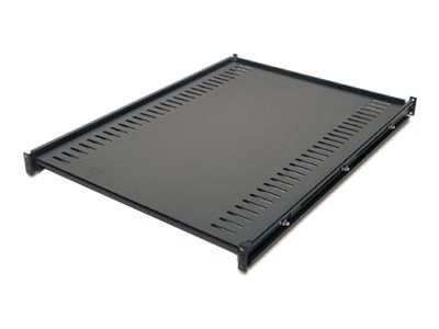 APC Fixed Shelf 1U Rackmount 250lbs (114kg) Black