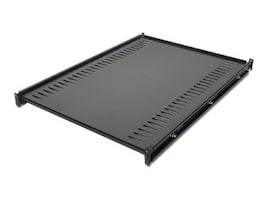 APC Fixed Shelf 1U Rackmount 250lbs (114kg) Black, AR8122BLK, 235801, Rack Mount Accessories