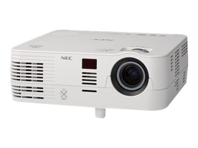NEC VE281X XGA DLP Projector, 2800 Lumens, White, NP-VE281X, 15024857, Projectors