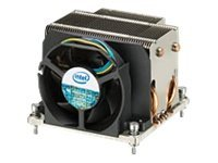 Intel STS100C Passive Active Heat Sink with Removable Fan, for Nehalem-EP Processor in LGA1366 Socket, BXSTS100C, 9448021, Cooling Systems/Fans