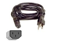Belkin Pro Series Computer AC Power Replacement Cable, 6ft, F3A104-06, 48007, Power Cords