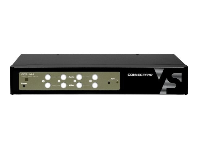 Connectpro 4-Port A V DVI Switch, ADS-14-I