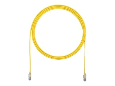 Panduit CAT6E 28AWG UTP Copper Patch Cable, Yellow, 6ft