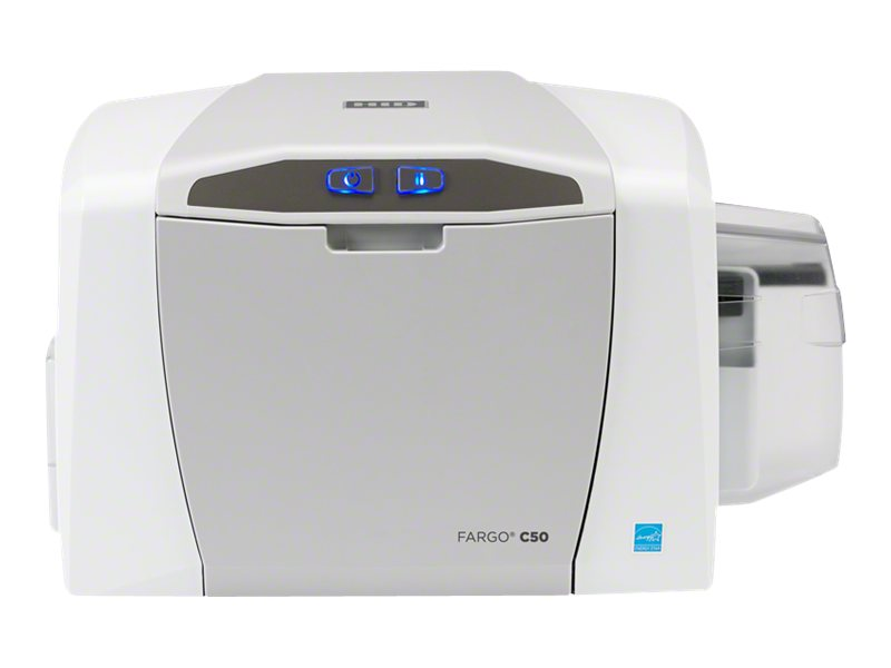 Fargo Electronics C50 SS ID Direct-to-Card Printer, 51700