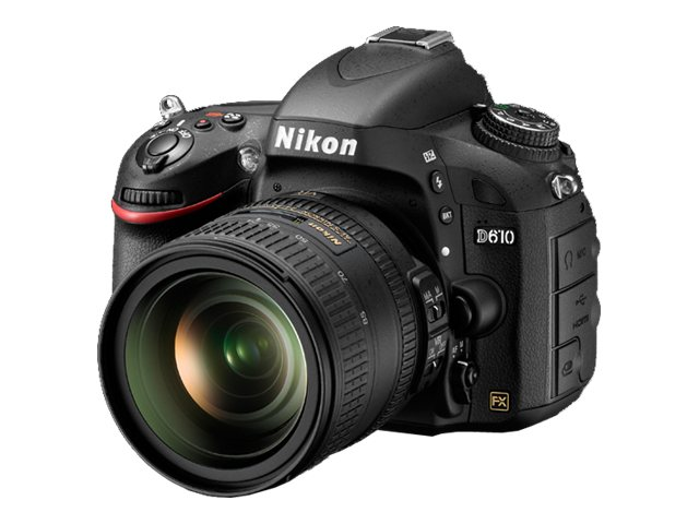 Nikon D610 FX-Format Digital SLR Body                                                 SLR Camera Body, 1540