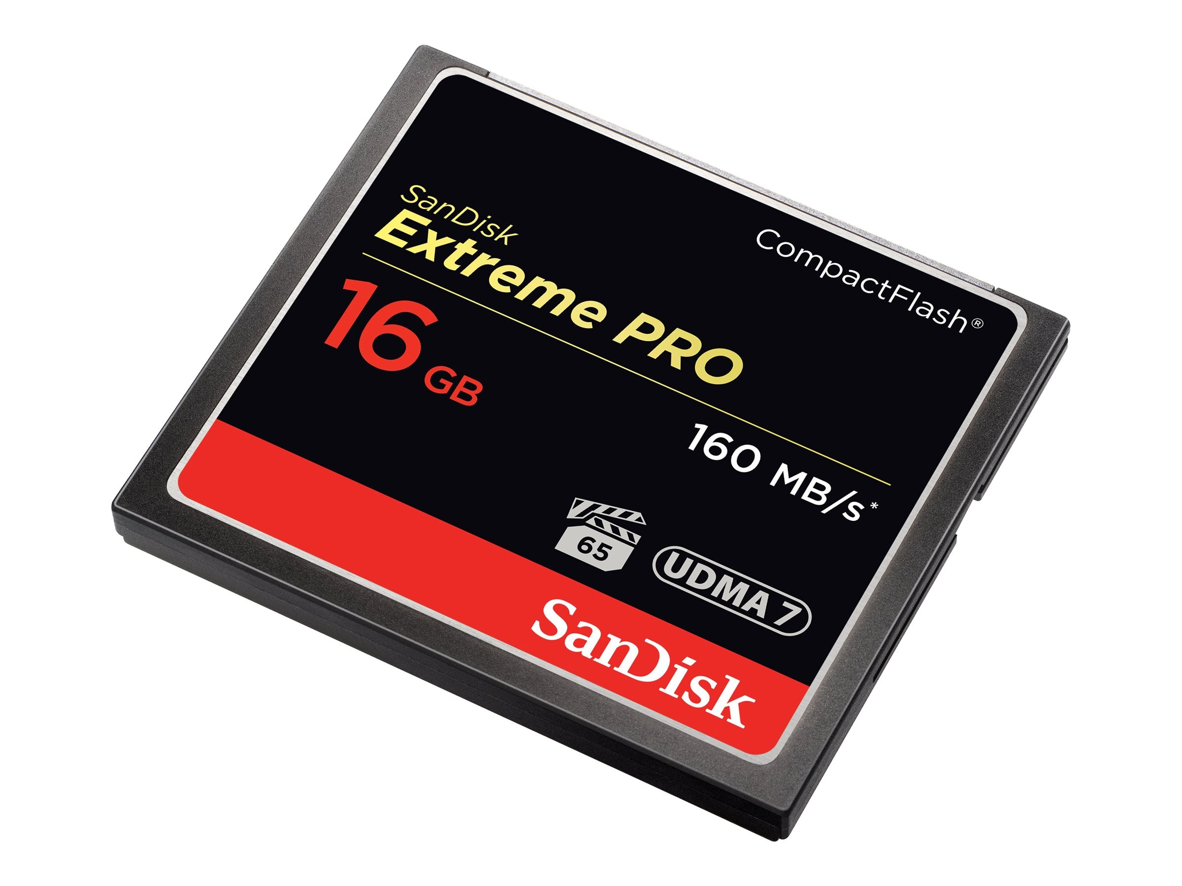 SanDisk 16GB CompactFlash Extreme Pro Memory Card