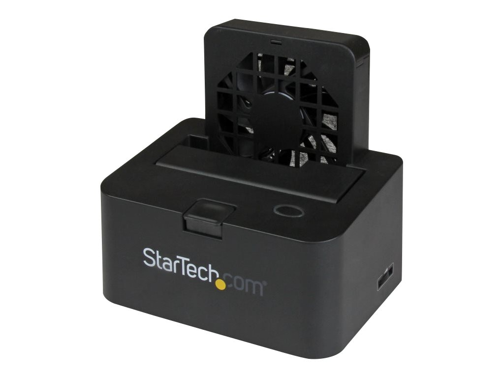 StarTech.com eSATA USB 3.0 External Docking Station for 2.5 or 3.5 SATA 6Gb s Hard Drives w  UASP, SDOCKU33EF, 18891729, Hard Drive Enclosures - Single