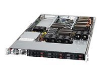 Supermicro SuperServer 1026GT-TF-FM105, Black
