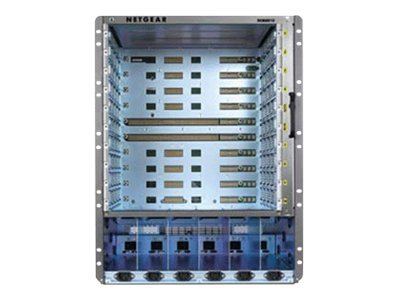 Netgear 8800 Series 10-Slot Chassis Switch, XCM10SKT-10000S