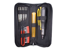 QVS 23-Piece Computer Maintenance Tool Kit w Precision Screwdrivers, CA215P, 31191145, Network Tools & Toolkits