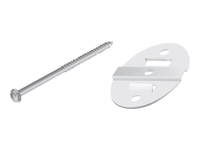 Ubiquiti Wall Mount Kit for NanoBeam Models, NBE-WMK