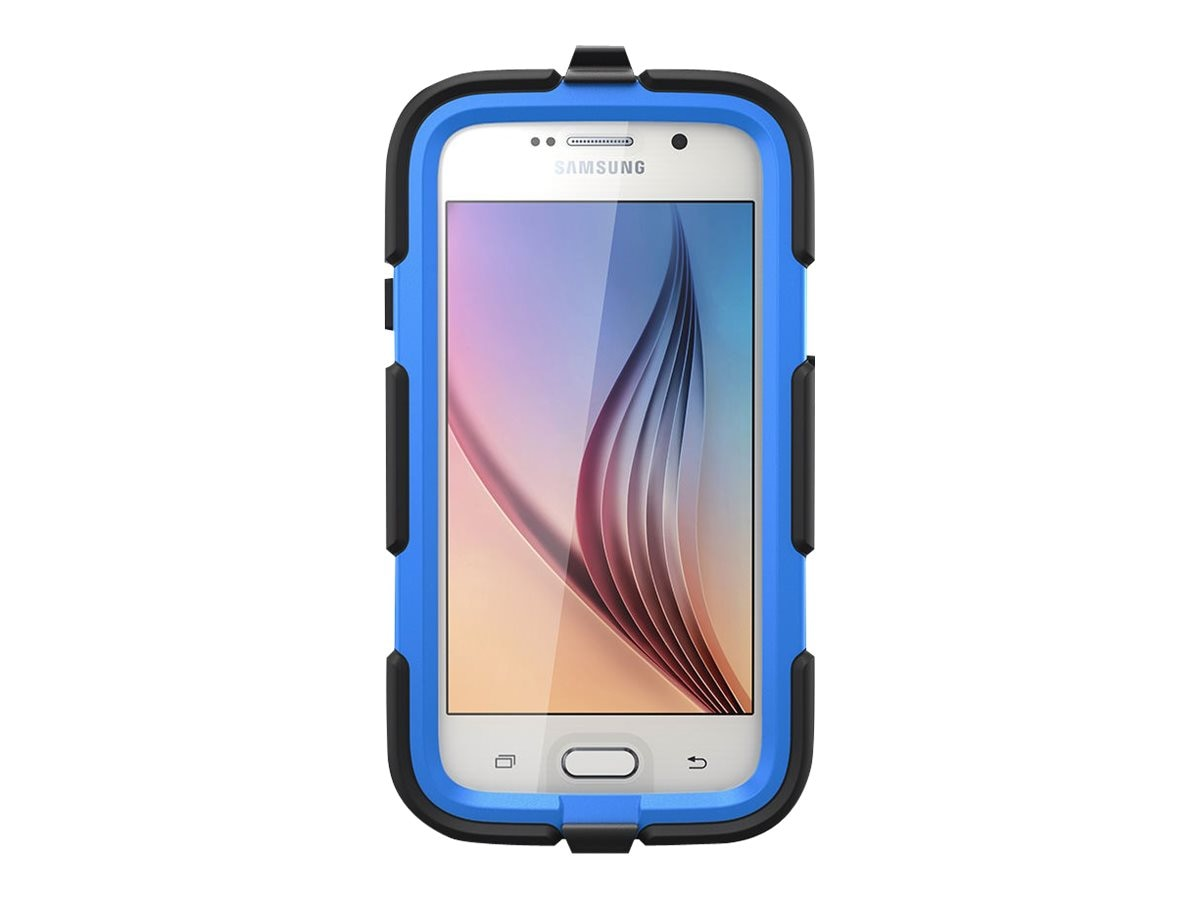 Griffin Survivor All Terrain for Galaxy S6, Black, GB41130, 19697127, Carrying Cases - Phones/PDAs