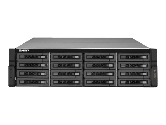 Qnap 16-Bay NAS, 3U, SATA III. USB, TS-1679U-RP-US, 14902540, Network Attached Storage