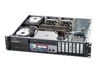 Supermicro Chassis, 2U Rackmount, 3 Bays, ATX, 520W PS, Black, CSE-523L-520B, 7901750, Cases - Systems/Servers