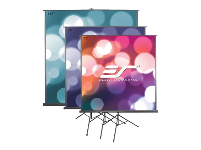 Elite Tripod B Series Projector Screen, MaxWhite, 85