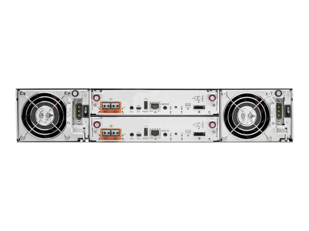 HPE MSA 2040 SFF DC Power Chassis, C8R11A
